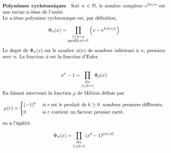définition de la vérité mathématique
